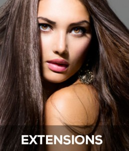Extensions en hairweaving